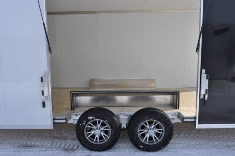 2019 All Aluminum 8.5 x 24 Two Tone Car Trailer w/Full Escape Door For Sale