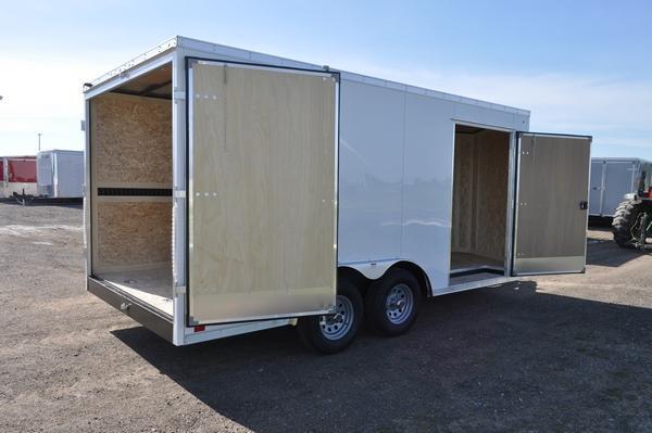 2021 Haul-it 8.5 x 16 H.D. Construction Enclosed Cargo Trailer W/E-Trac for Sale