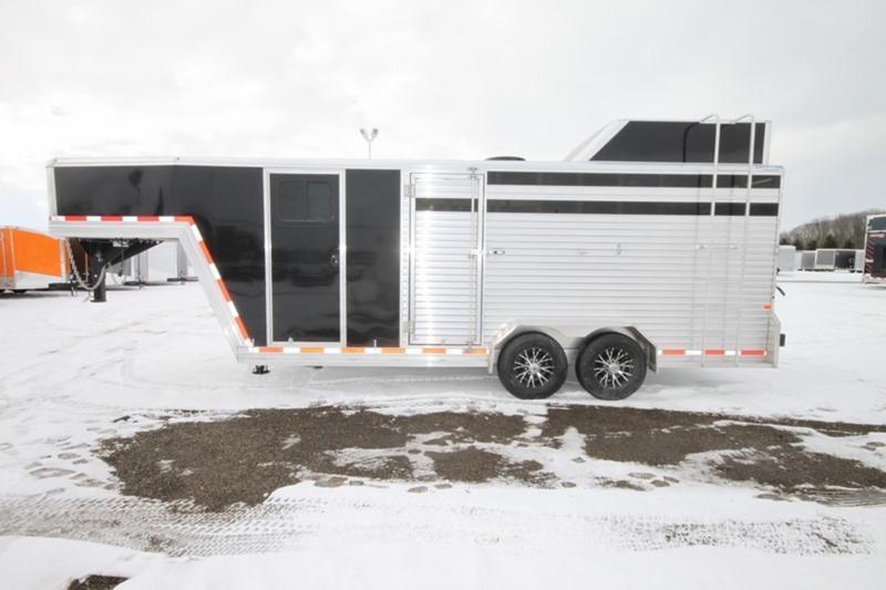 2017 Frontier 7 x 20 Livestock Combo Gooseneck Trailer for Sale