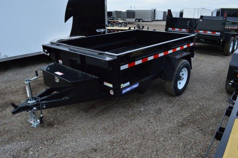 """2019 Sure-Trac 62"""" x 8' Power Dump Trailer For Sale"""