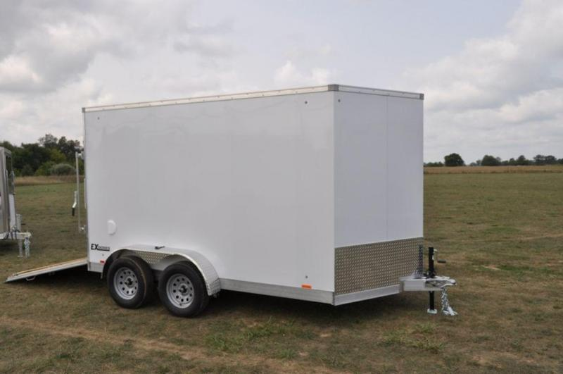 2018 Cargo Express 7 x 12 Tandem Axle All Aluminum Cargo Trailer For Sale