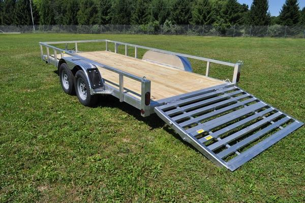 "2021 Haul-it 80"" x 16' All Aluminum Open Utility Trailer For Sale"