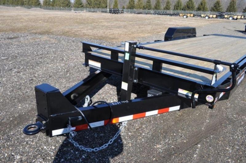 2019 Sure-Trac 7 x 22 16K Tilt Equipment Trailer For Sale