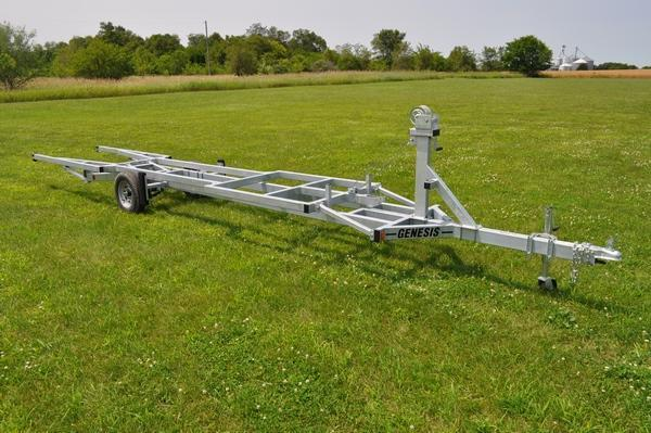 2020 Genesis 20' Crank Up Pontoon Trailer Watercraft Trailer For Sale
