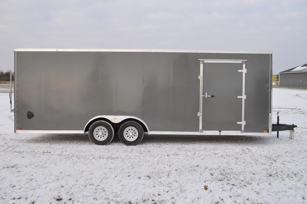 2020 Discovery Trailers 8.5 x 24 Wedge Nose Car / Racing Trailer For Sale