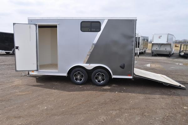 2021 Haul-it 7.5 x 14 Enclosed Cargo Trailer W/Windows for Sale