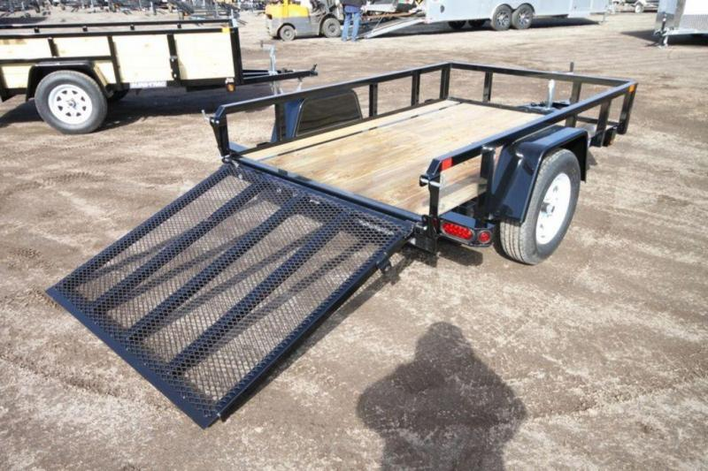 2020 Sure-Trac 5 x 8 Tube Top Utility Trailer For Sale