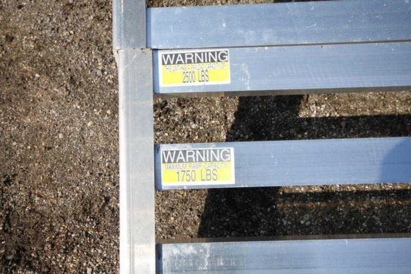 "2020 All Aluminum 80"" x 12' Single Axle Utility Trailer For Sale"