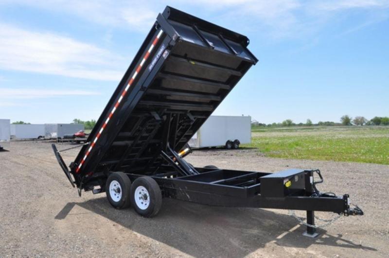 """2019 Sure-Trac 96"""" x 14' Drop Side Dump Trailer For Sale"""