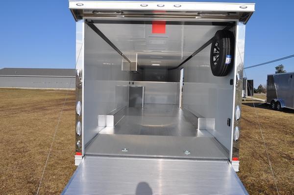 2020 inTech Trailers 8.5 x 40 All Aluminum Gooseneck Car / Racing Trailer For Sale