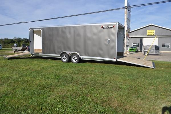 2020 Triton 8.5 x 24 Combo Trailer / Snowmobile Trailer For Sale