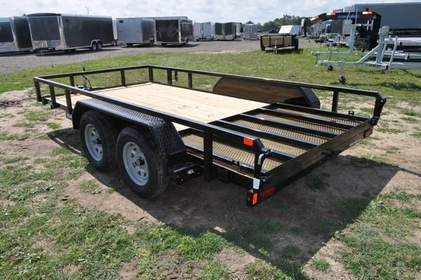2020 Sure-Trac 7 x 14TA Tube Top Utility Trailer for Sale Utility Trailer