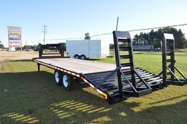 2019 Sure-Trac 8.5 x 20 + 4 Standard Deckover G.N. Equipment Trailer For Sale