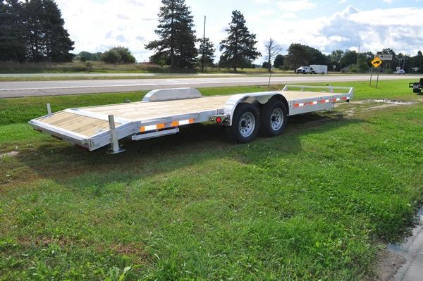"2020 Haul-it 82"" x 24' Open All Aluminum Car / Racing Trailer For Sale"