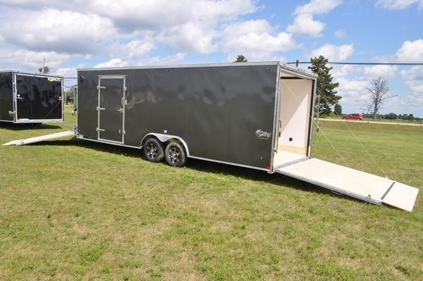 2020 Stealth Trailers Aluminum 8.5 x 29 Combo Trailer for Sale Snowmobile Trailer