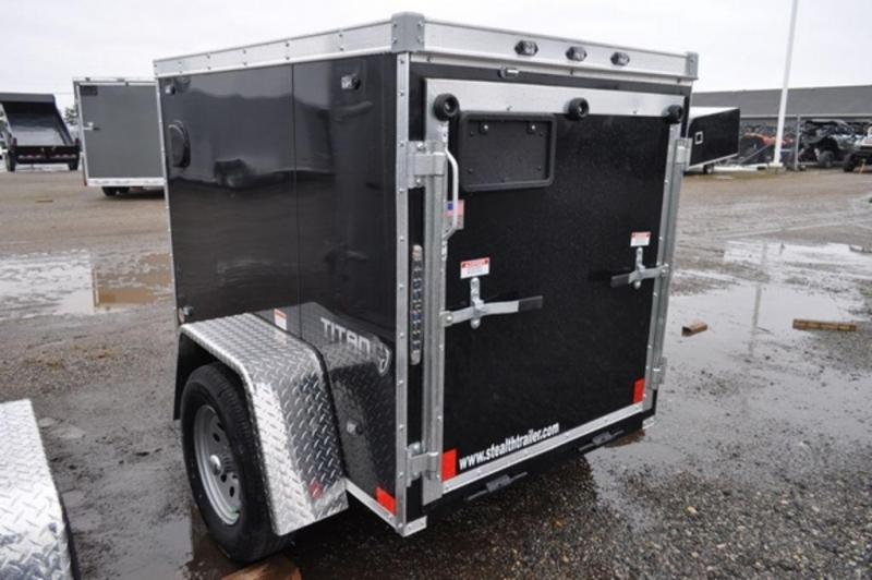 2019 Stealth 4 x 6 Enclosed Cargo Trailer w/ Ramp Door For Sale