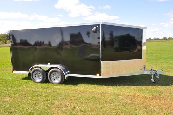 2020 Haul-it 7 x 19 Inline All Aluminum Snowmobile Trailer For Sale