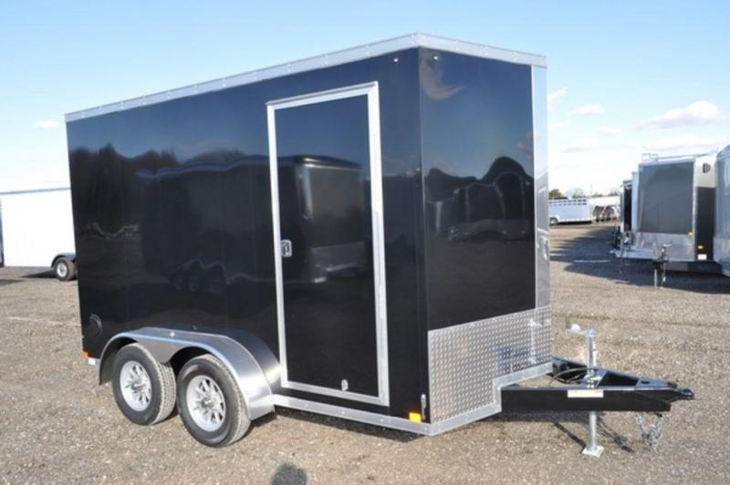 2018 Haul-It 7 x 12 Enclosed Cargo Trailer For Sale