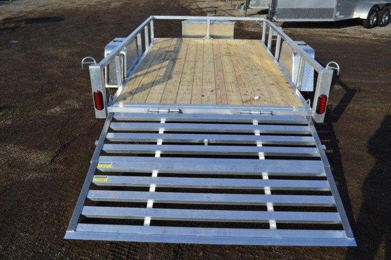 "2020 All Aluminum 74"" x 10' Utility Trailer For Sale"