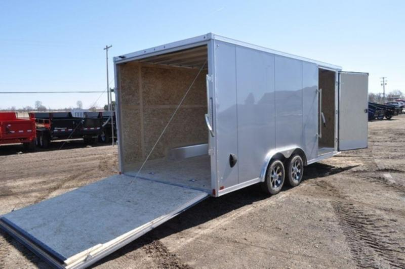 2020 Haul-It 8.5 x 18 All Aluminum Wedge Nose Car Trailer For Sale