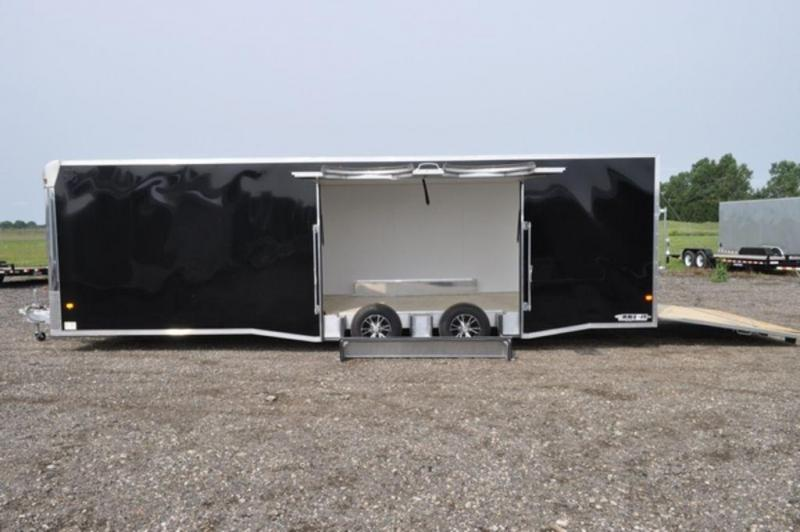 2018 All Aluminum Enclosed 8.5 x 28 Car Trailer w/Full Escape Door For Sale