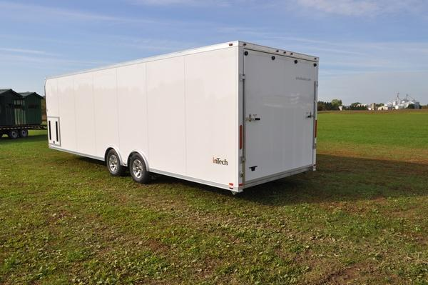 2020 inTech Trailers All Aluminum 8.5 x 28 Enclosed Car / Racing Trailer For Sale