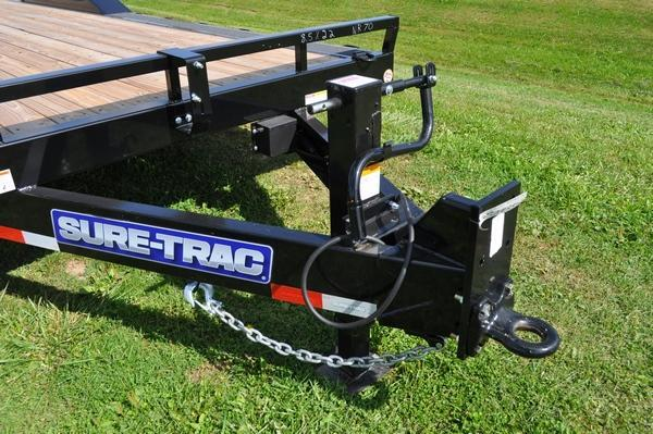 2019 Sure-Trac 101 x 22' Drive Over Fender Equipment Trailer For Sale