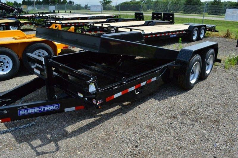 2018 Sure-Trac 7 x 18 HD 16K Tilt Equipment Trailer