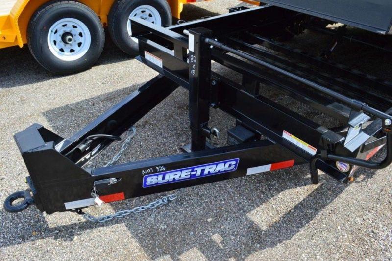 2018 Sure-Trac 7 x 18 HD 16K Tilt Equipment Trailer