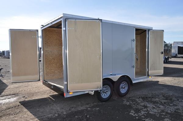 2021 Haul-it 7 x 14 H.D. Construction Enclosed Cargo Trailer For Sale