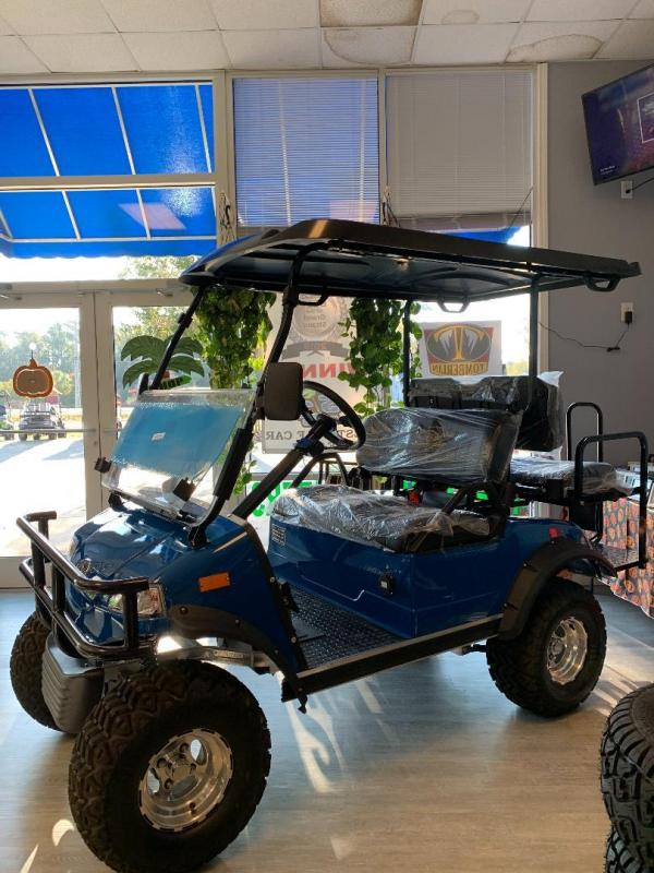 2020 Evolution Forester 4 Golf Cart