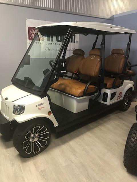2020 Tomberlin E-4 SS Saloon Golf Cart