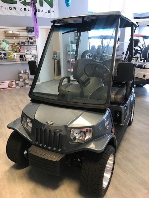 2019 Tomberlin Gunsmoke Grey E2-LE PLUS Golf Cart