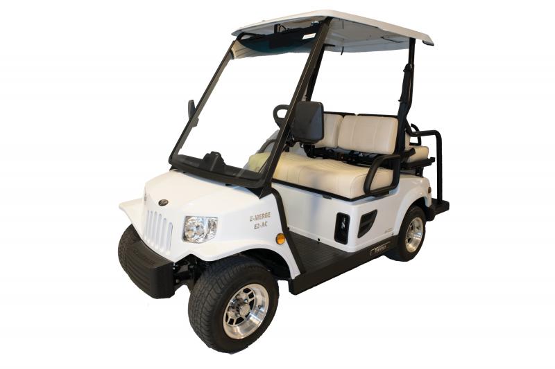 E-Merge E2 REVENGE | Tomberlin | White Golf Cart | 2019