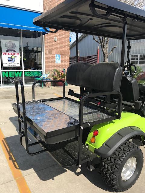 2020 Evolution Forester 4 Golf Cart