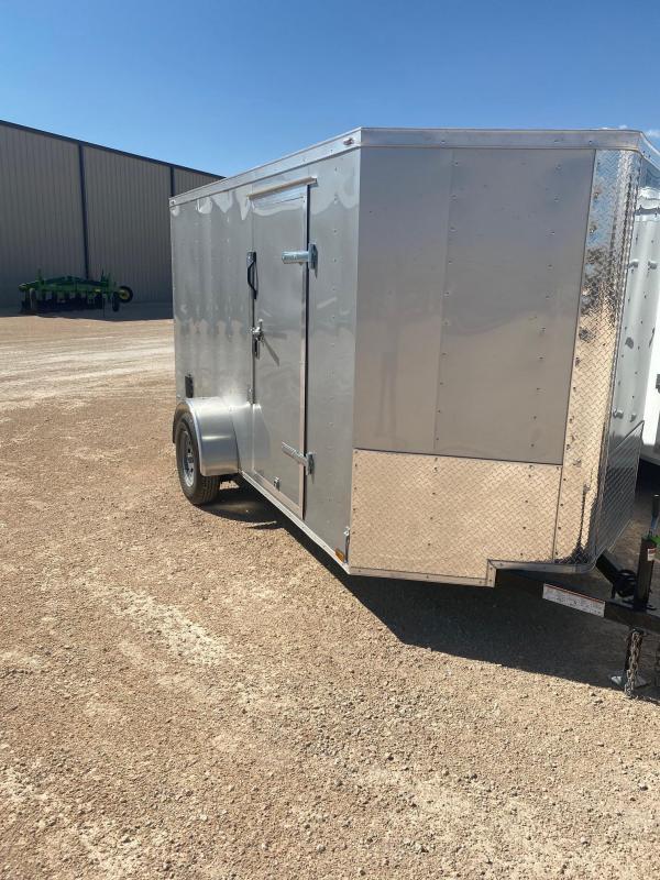 2020 Lark 6' x 12' Enclosed Cargo Trailer