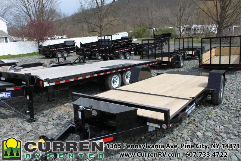 2020 SURE-TRAC 6.5x12+4 7.8k Tilt Equipment Trailer - ST78124SATE-B-078