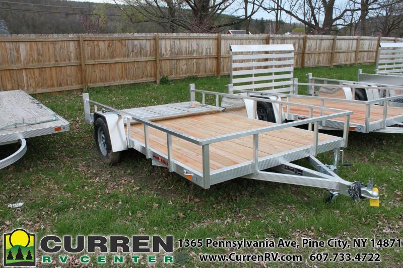 2020 SPORT HAVEN 7x12 Aluminum Utility Trailer - AUT712