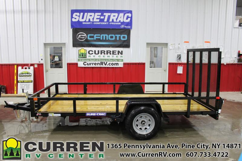 2020 SURE-TRAC 6x12 3k Tube Top Utility Trailer - ST7212TA-B-030