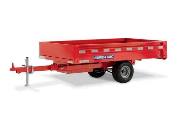 2019 SURE-TRAC ST5408D-B-030 Utility Trailer