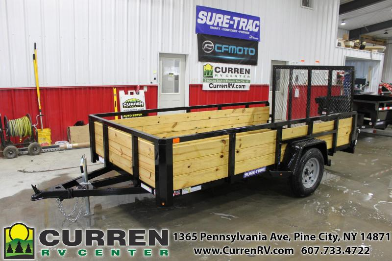 2019 SURE-TRAC ST7212HST-B-030 Utility Trailer