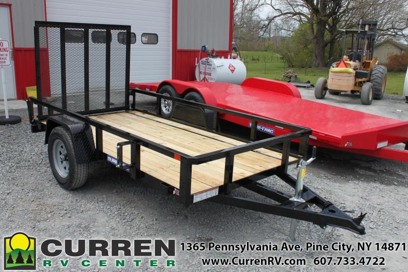 2020 SURE-TRAC 5x10 3k Tube Top Utility Trailer - ST6210TA-B-030