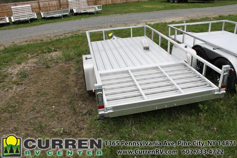 2020 SPORT HAVEN 6x12 Aluminum Utility Trailer with Aluminum Deck - AUT612D