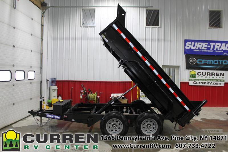 2020 SURE-TRAC 6x10 10k LP Dump Trailer with Ramps - ST7210D1R-B-100