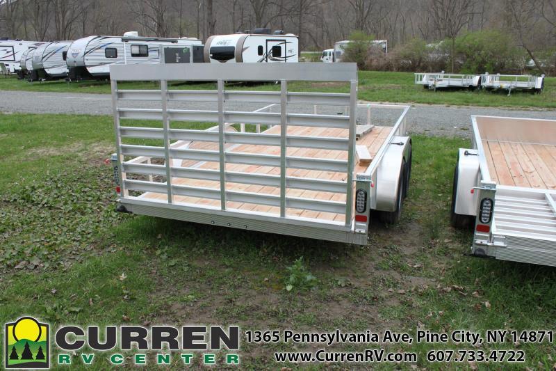 2020 SPORT HAVEN 7x14 7k Aluminum Utility Trailer - AUT714T