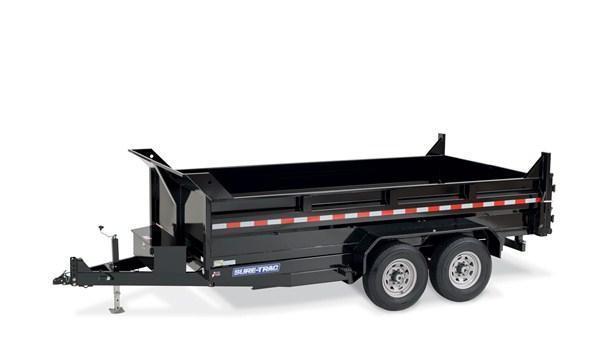 2020 SURE-TRAC ST8212HLOD-B-120 Dump Trailer