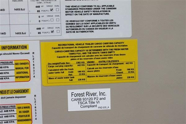 2020 Forest River Inc. ROCKWOOD 23BDS Travel Trailer
