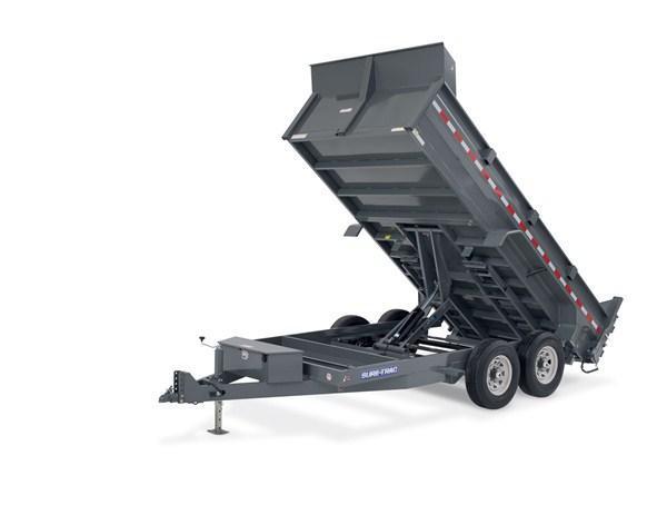2020 SURE-TRAC 7x12 12k HD LP Scissor Dump Trailer - ST8212HLOD-B-120