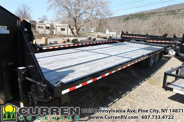 2019 SURE-TRAC ST102275LPDO2A-GN-225 27+5 BEAVERTAIL GOO Equipment Trailer