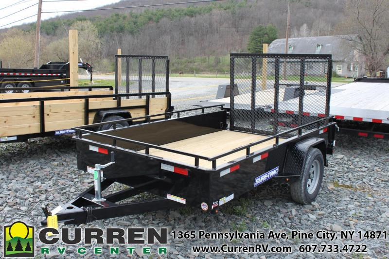 2020 SURE-TRAC 6x10 Steel Sided Utility Trailer - ST7210HSA-B-030
